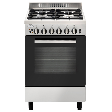 53cm Stainless Steel Freestanding Gas Cooker